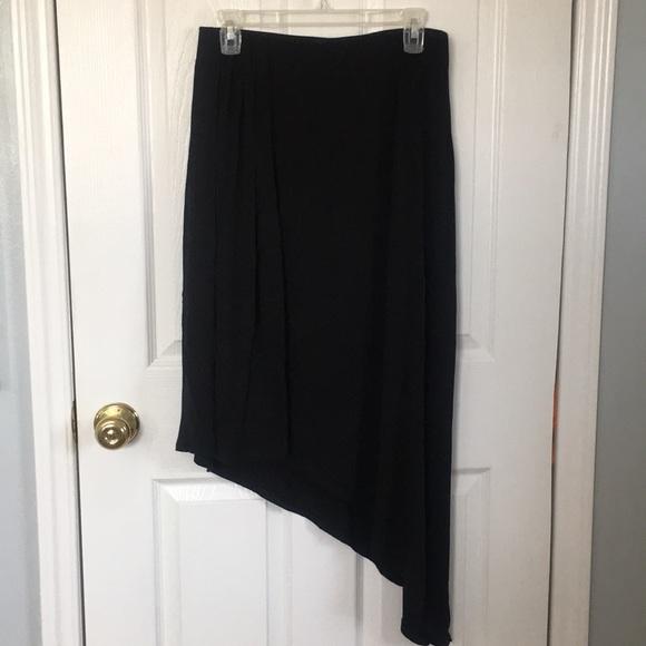 White House Black Market Dresses & Skirts - WHITE HOUSE BLACK MARKET ASYMMETRICAL SKIRT